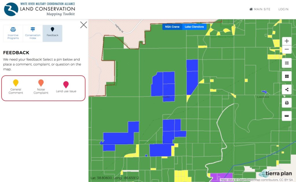 Land Conservation Mapping Toolkit | Feedback