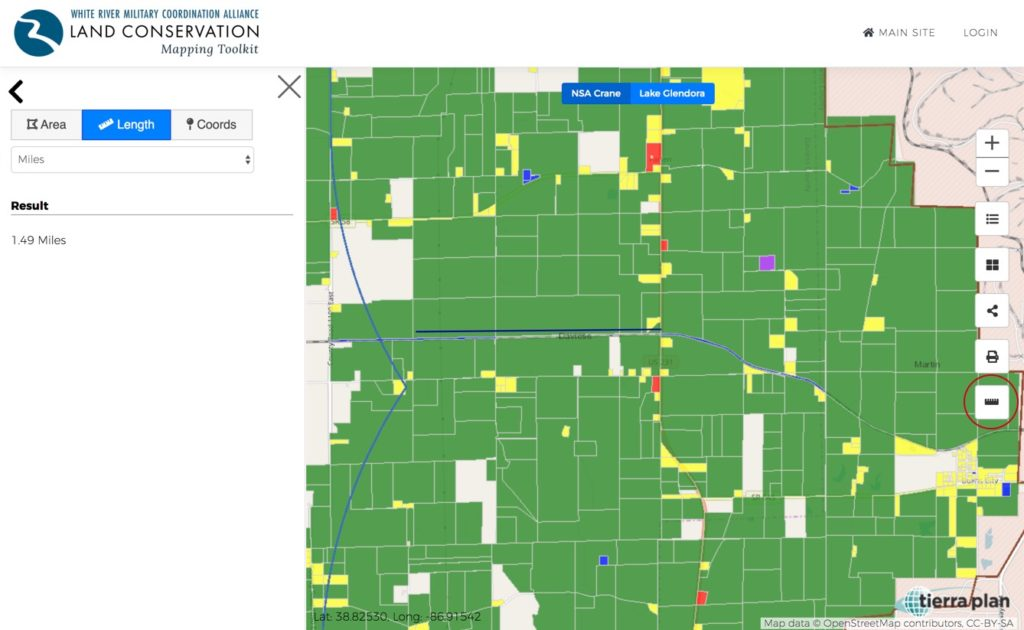 Land Conservation Mapping Toolkit | Measure
