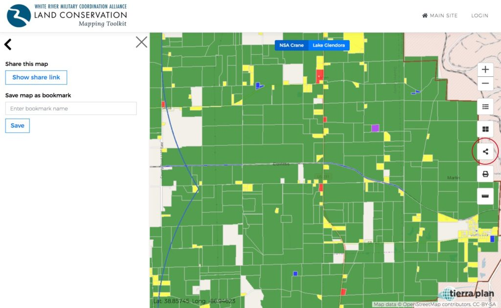 Land Conservation Mapping Toolkit | Share