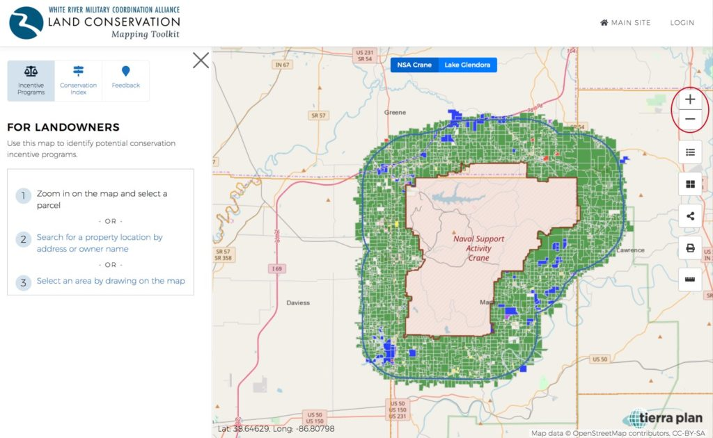 Land Conservation Mapping Toolkit | Zoom